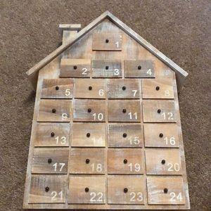 Other - A wooden Christmas Advent calendar
